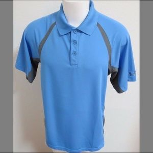 Sz L Under Armour Heat-Gear Men #33N Golf Polo